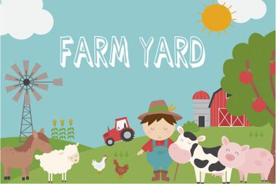 Farm Yard clipart