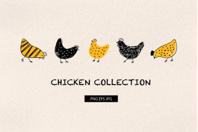 Chicken collection