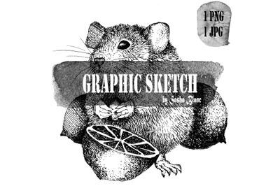 Graphic sketch maus 2