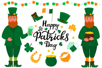 Happy St. Patrick`s Day set