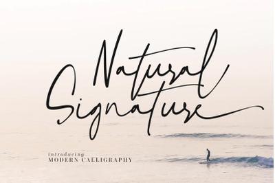 Natural Signature
