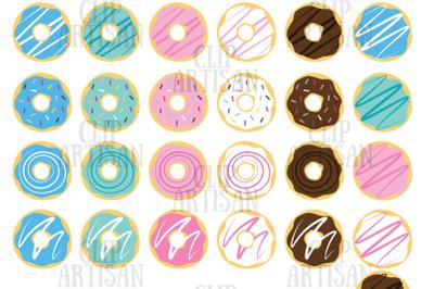 Donuts Clipart, Doughnuts Clip Art