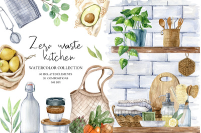 Zero Waste Kitchen Set