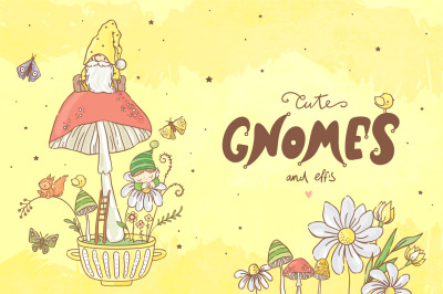 Gnomes & Elf collection