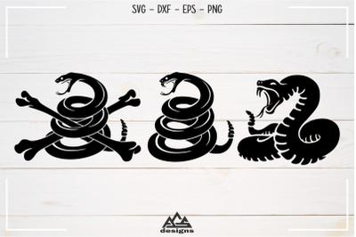 Rattle Snake Svg Design