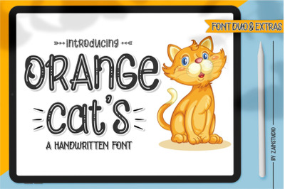 Orange Cat's Display Font