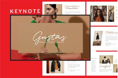 Gustas Fashion - Keynote Template