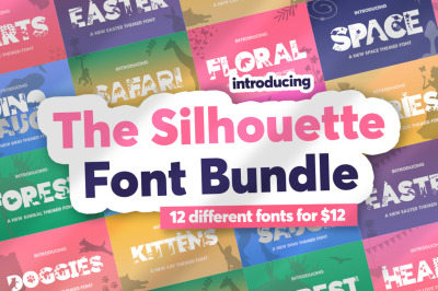 The Font Silhouette Bundle