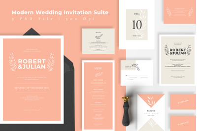 Modern Elegant Wedding Suite