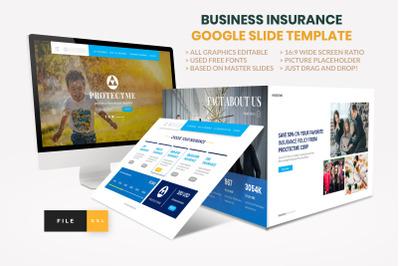 Insurance - Business Consultant Google Slide Template