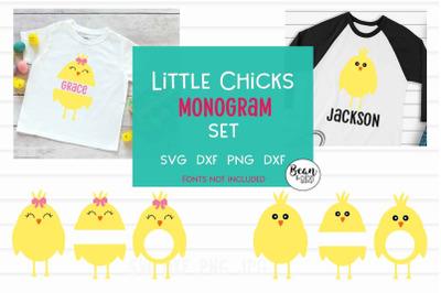 Little Chicks Monogram Set