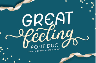 Great Feeling / Lovely Font Duo