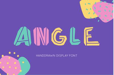Angle Font Family