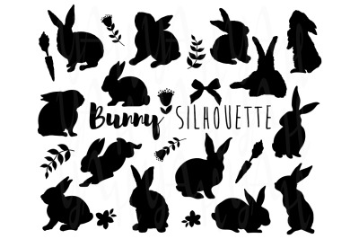 Bunny Silhouette Collections