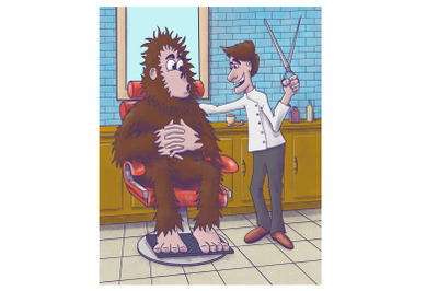 Bigfoot Haircut