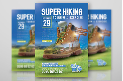 Hiking Trekking Flyer