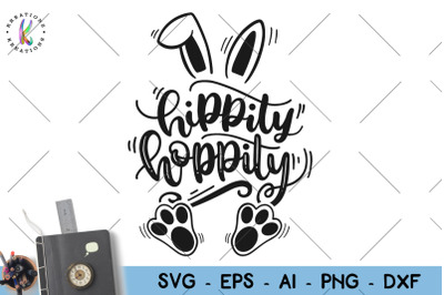Easter svg Hippity Hoppity svg Bunny