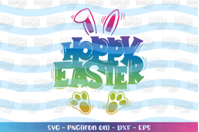 Easter svg Hoppy Easter svg Bunny