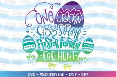 Easter svg Easter Family egg hunt