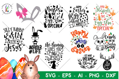 Easter bundle svg Easter Pack svg