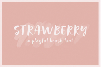 Strawberry | A Playful Script