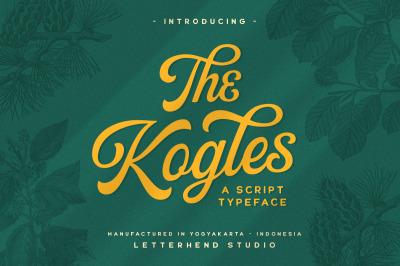The Kogles Script Typeface