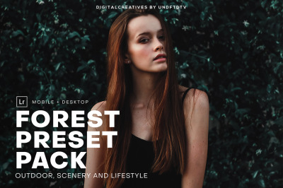 Forest Mobile & Desktop Lightroom Preset