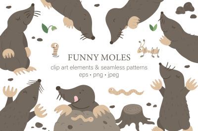 Funny moles
