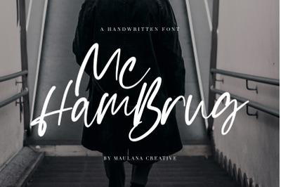 Mc Hambrug Typeface