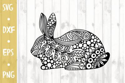 Easter ornament rabbit- SVG CUT FILE