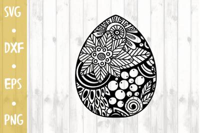 Ornament Egg- SVG CUT FILE