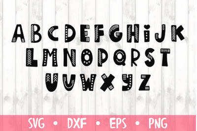 SVG font -SVG CUT FILE