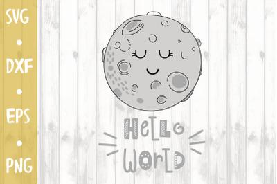 Hello world -SVG CUT FILE