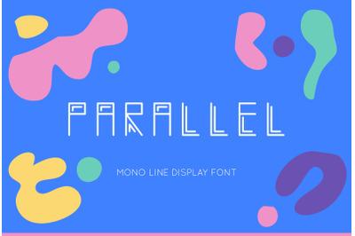 PARALLEL FONT