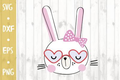 Cute Bunny -SVG CUT FILE