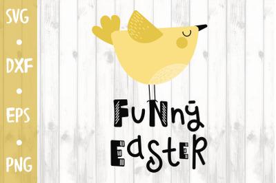 Funny Easter -SVG CUT FILE
