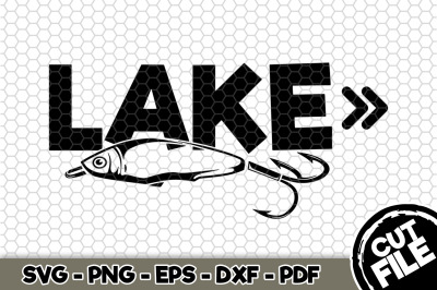 Lake SVG Cut File n228