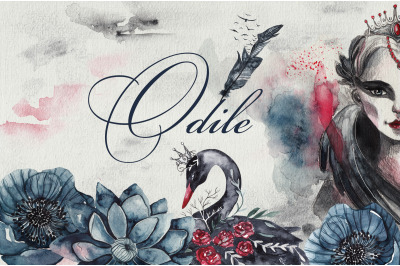 Odile. Black Swan collection