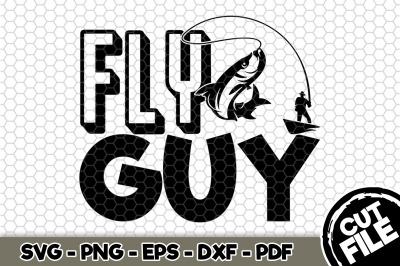 Fly Guy SVG Cut File n230