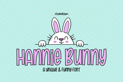 Hannie Bunny | Funny Font