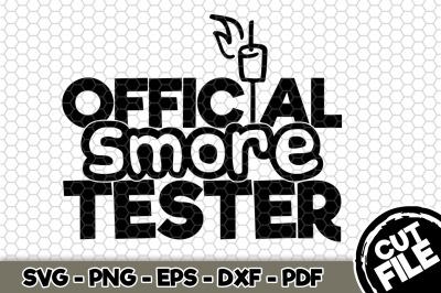 Official Smore Tester SVG Cut File n269