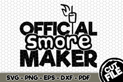 Official Smore Maker SVG Cut File n270