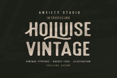 Holluise Vintage (Extra Badges Logo)