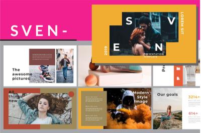 Sven Lookbook - Creative Powerpoint Template