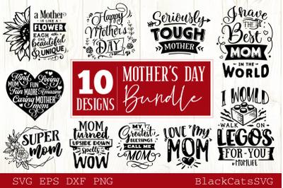 Mother's Day SVG bundle 10 designs Mother's Day SVG