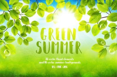 Green Summer Vector
