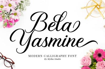 Bela Yasmine-Elegant Calligraphy Font