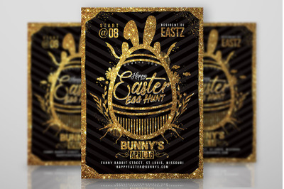 Happy Easter Egg Hunt Flyer
