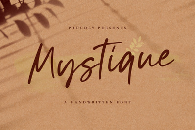 Mystique - Luxury Signature Font
