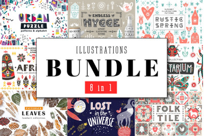 The 8-In-1 - Artistic Illustration Bundle
